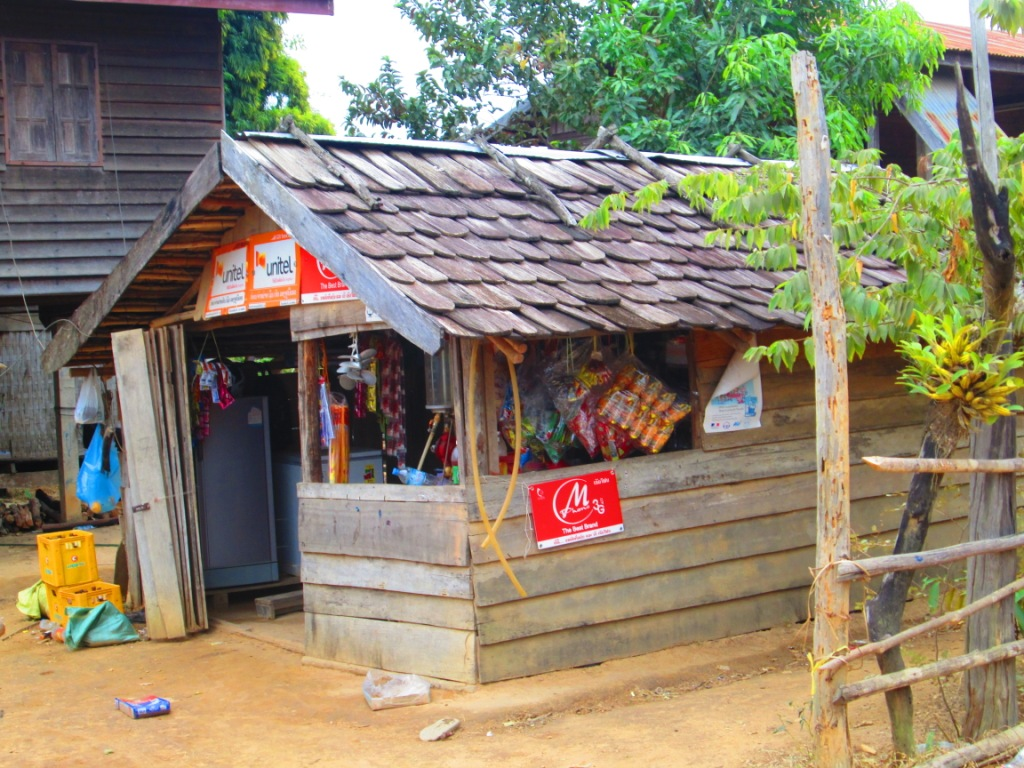 Shop-restaurant-homestay...the all in one Laotian package
